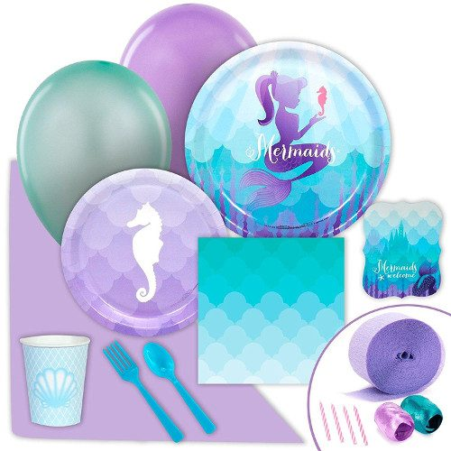 Under The Sea Mermaid Party Supply Pack
