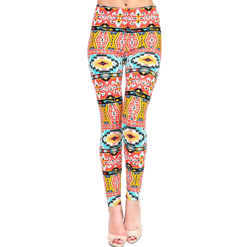 Bright Sunrise Southwest Leggings