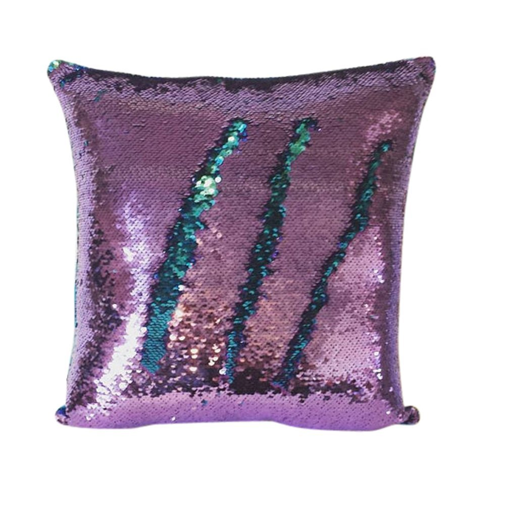 Reversible Sequins Mermaid Pillow Case