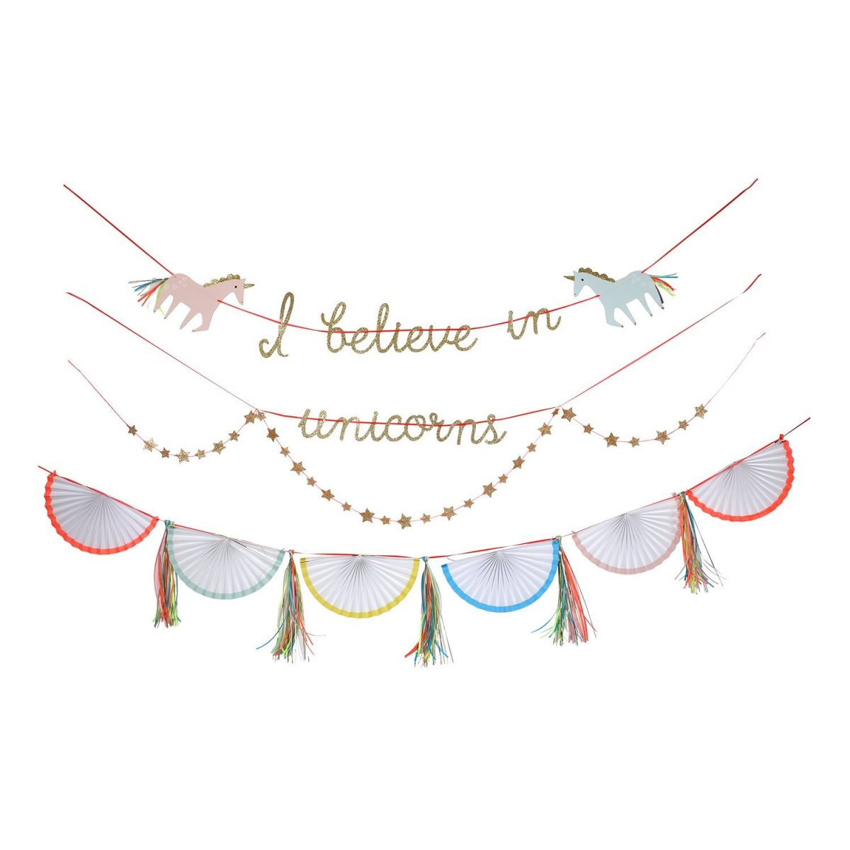 Unicorn Garland Party Decorations