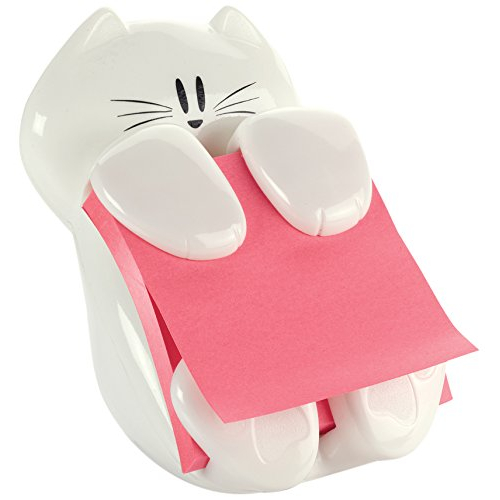 Cute Kitty Pop-Up Note Dispenser