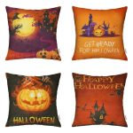 Decorative Halloween Throw Pillow Cases