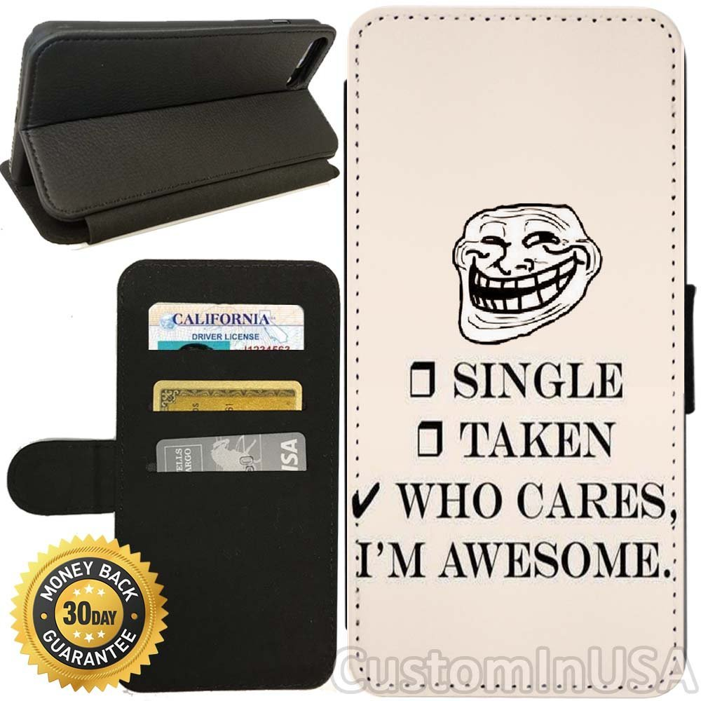 Forever Alone Meme iPhone Wallet Case