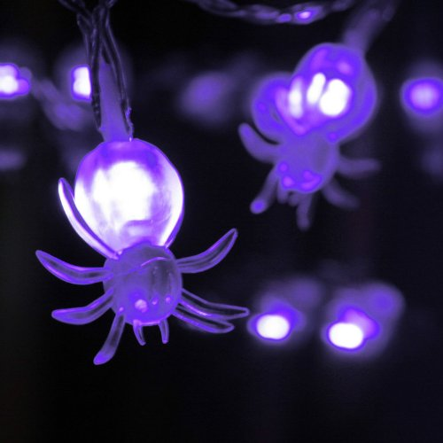 LED Spider Halloween Lights