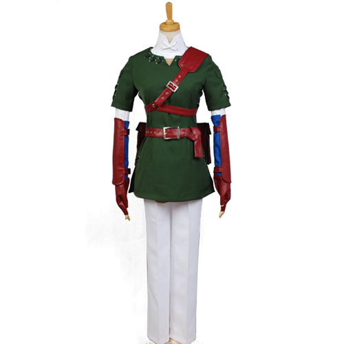 Legend of Zelda Link Cosplay Costume