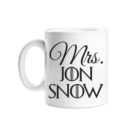 Mrs. Jon Snow Coffee Mug