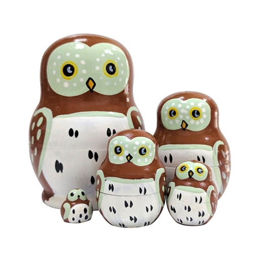 Owl Nesting Dolls Set