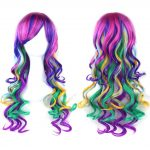 Rainbow Unicorn Cosplay Wig