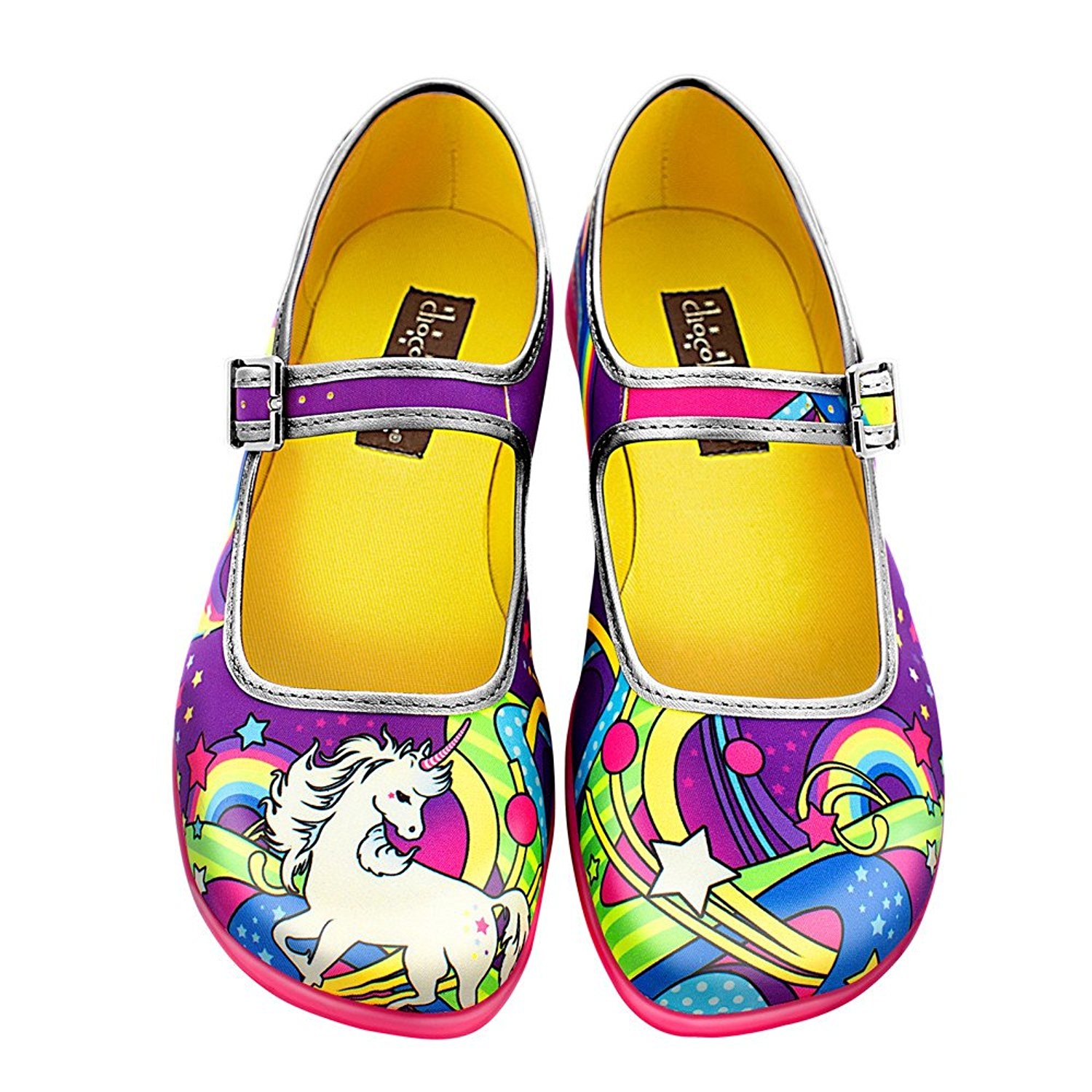 Unicorn Mary Jane Flats