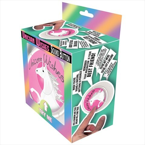 Unicorn Wishes Sound Button Toy