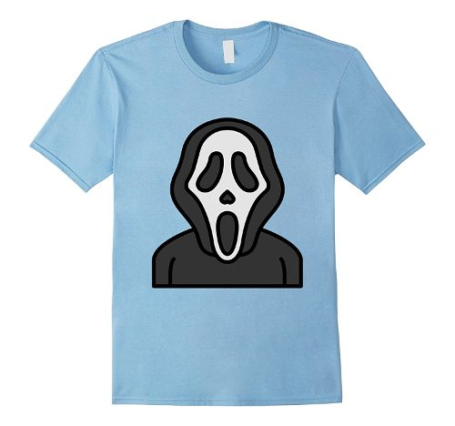 Light Blue Scream Ghostface T-shirt